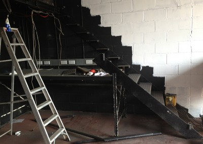 Metal Staircase Removal