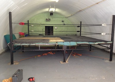 Welding Repair to a Boxing Ring