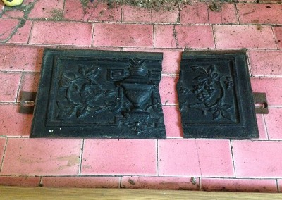 Welding Repair to a Cast Iron Fireplace