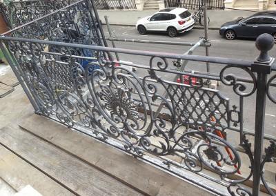 Weldfix Restoration to a Cast Iron Balcony