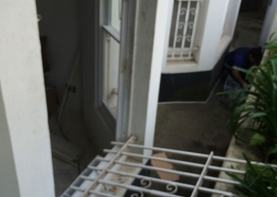 removing_metal_security_bars_from_window_2