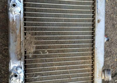Welding Repair to a Radiator