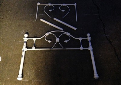 Welding Alteration to a Metal Bed Frame