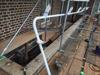 Welding Repair to a Metal Railing