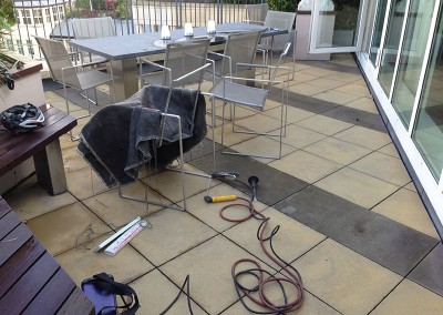 Welding Repairs to Metal Furniture